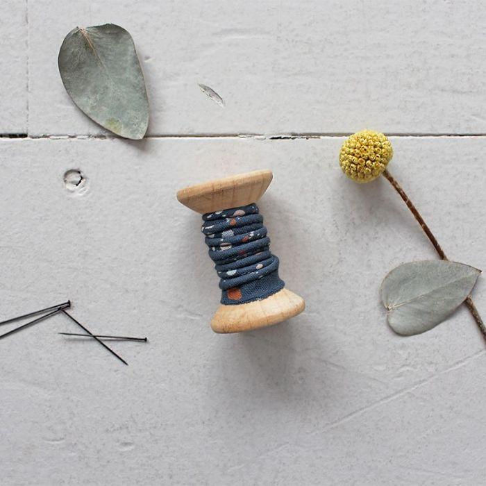 Passepoil terrazzo night - Atelier Brunette x 10 cm