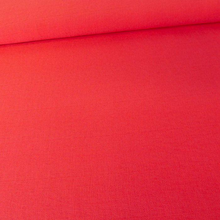 Coupon viscose texturé rose - 60 X 140 cm
