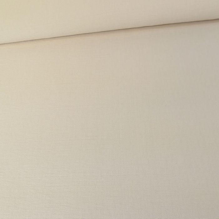 Tissu crêpe viscose gaufré - sable x 10 cm