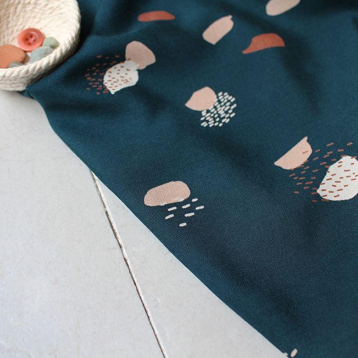 Biais viscose Moonstone Green - Atelier Brunette x 10 cm
