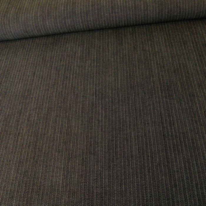 Tissu Jean denim texturé - gris x 10 cm