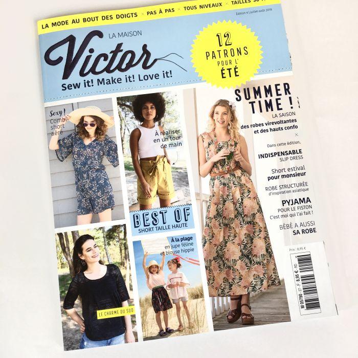 Magazine juillet-août 2018 La Maison Victor