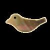 Perle nacre oiseau 6/15mm naturel