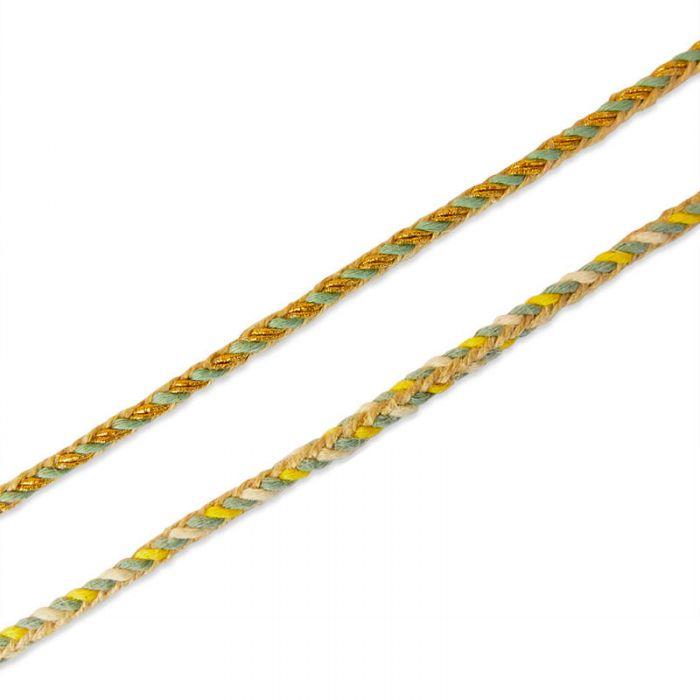Cordelette tressée 6 mm x 10 cm