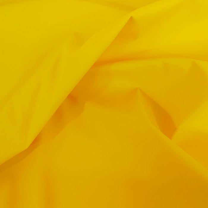 Tissu imperméable souple - jaune x 10 cm
