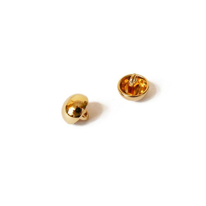 Bouton demi-sphère métal 10 mm x 1
