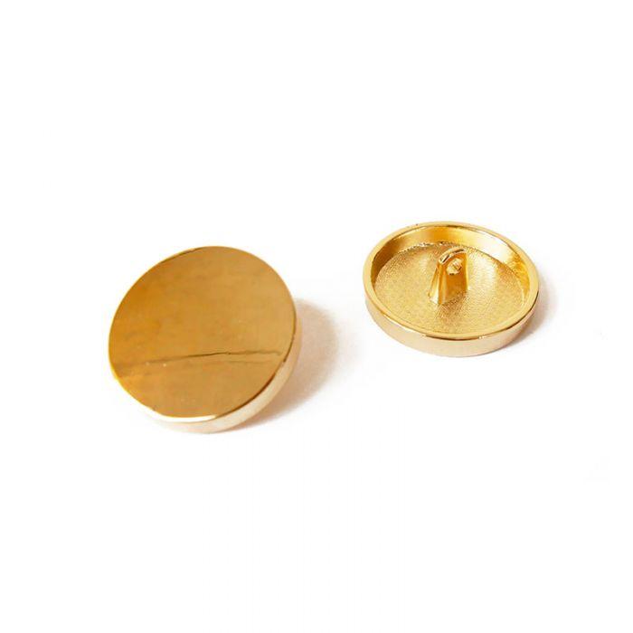Bouton à pied en métal 23 mm x 1