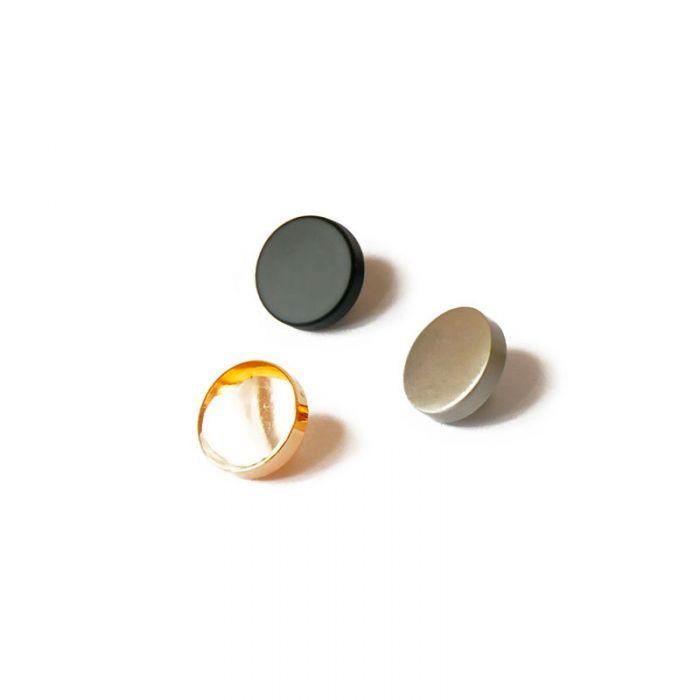 Bouton à pied en métal 13 mm x 1