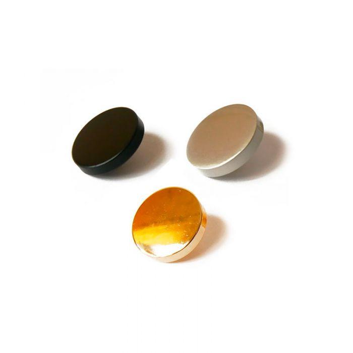 Bouton à pied en métal 18 mm x 1