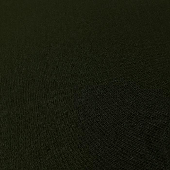 Tissu Crêpe stretch - kaki x 10 cm