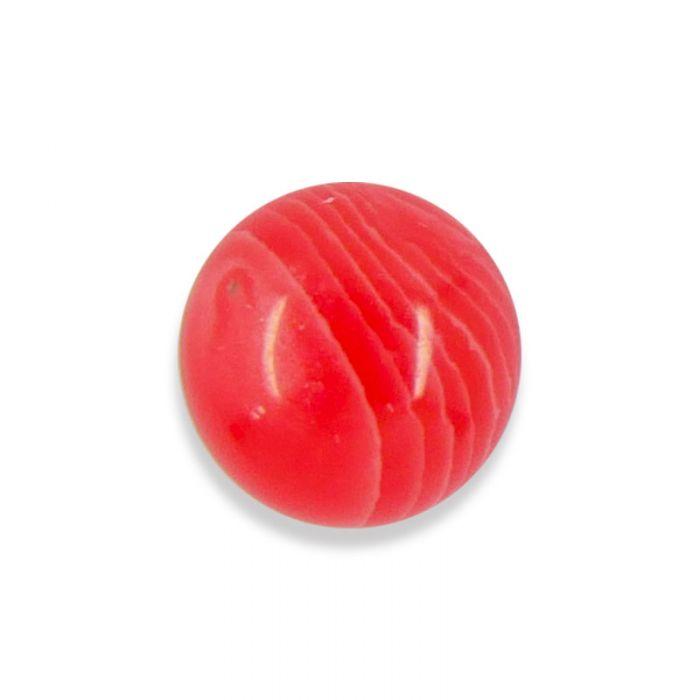 Cabochon agate teintée rose 10 mm x1