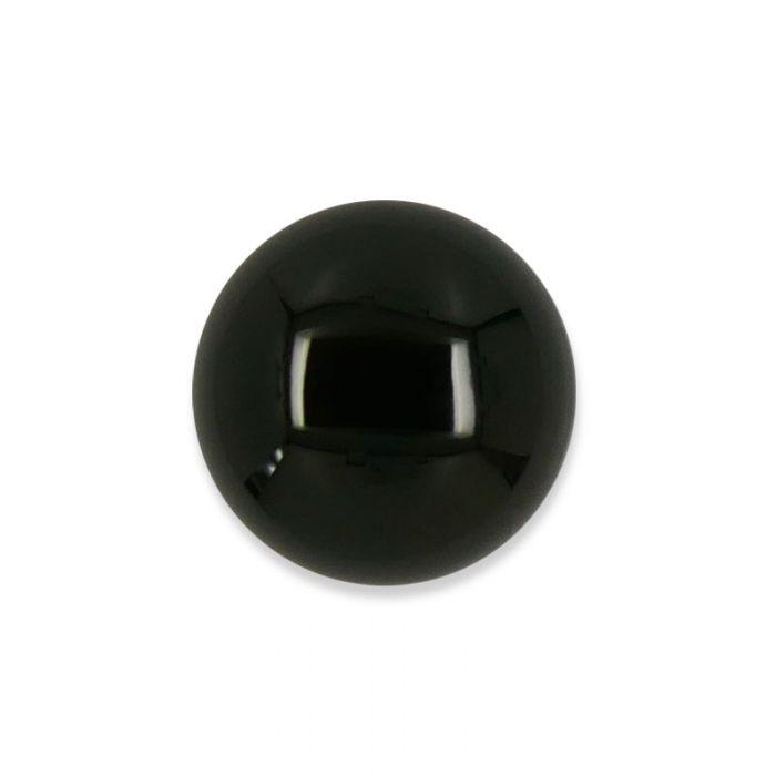 Cabochon agate noire 12 mm x1