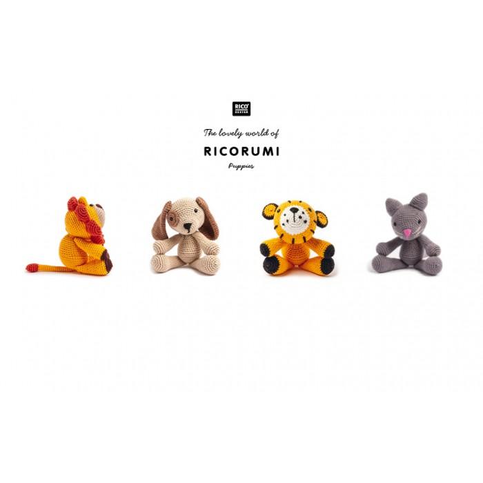 Kit crochet amigurumi Ricorumi - Lion