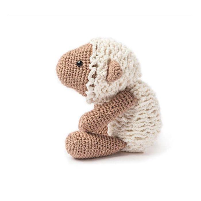 Kit crochet amigurumi Ricorumi - mouton