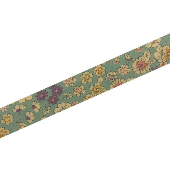 Biais fleuris 20 mm Froufrou x 10 cm
