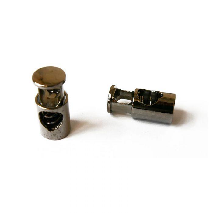 Arrêts de cordon cylindriques x 2