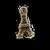 Breloque tour Eiffel 10mm cuivre