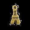 Breloque tour Eiffel 10mm dor