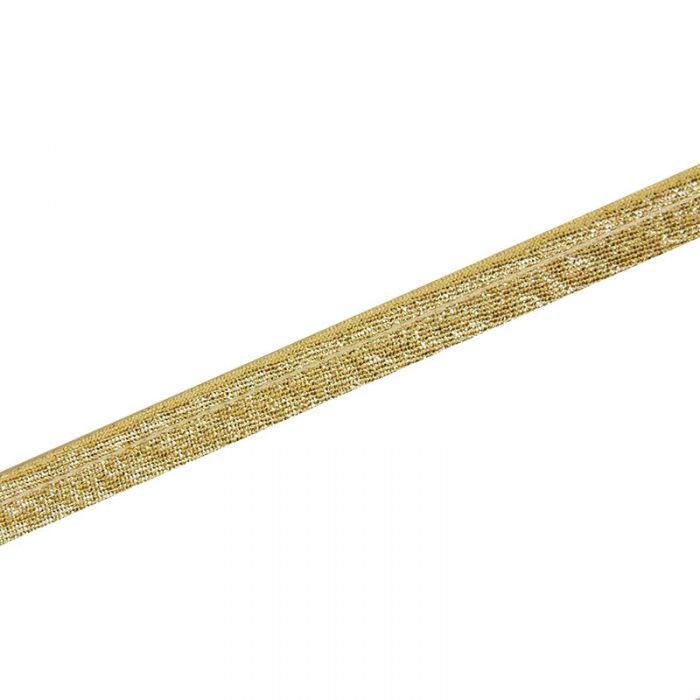 Passepoil lamé 10 mm x 10 cm