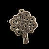 Breloque arbre 25mm cuivre