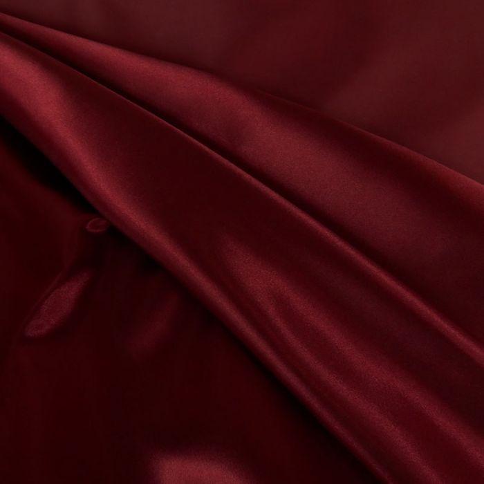 Tissu doublure Satin deluxe - bordeaux x 10 cm
