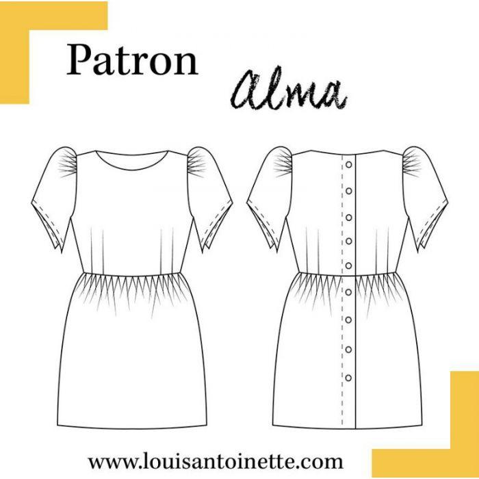 Robe Alma - Louis Antoinette