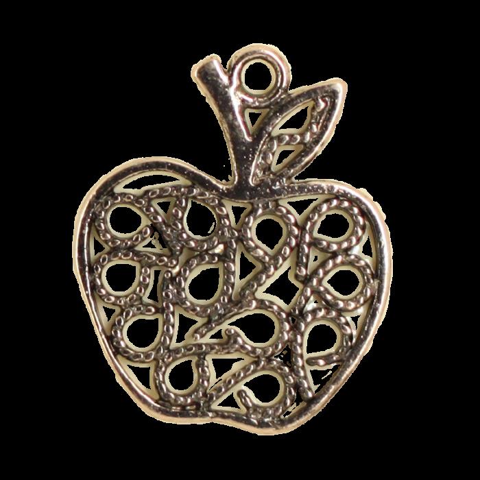 Breloque pomme 21mm cuivre