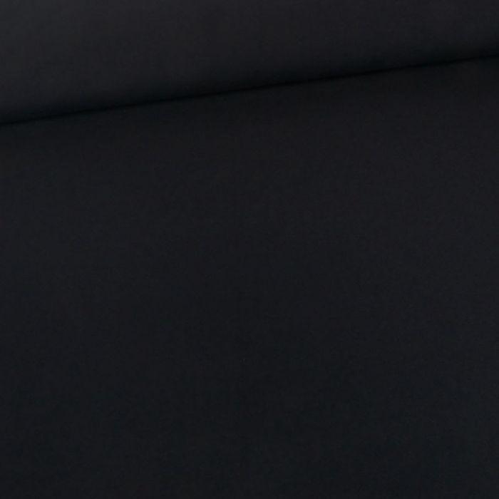 Tissu jersey coton uni - bleu navy x 10cm