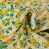 Tissu Blossom Empreinte Frou-Frou - Bora Bora x 10 cm