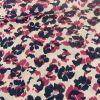 Tissu Blossom Empreinte Frou-Frou - Glamour x 10 cm