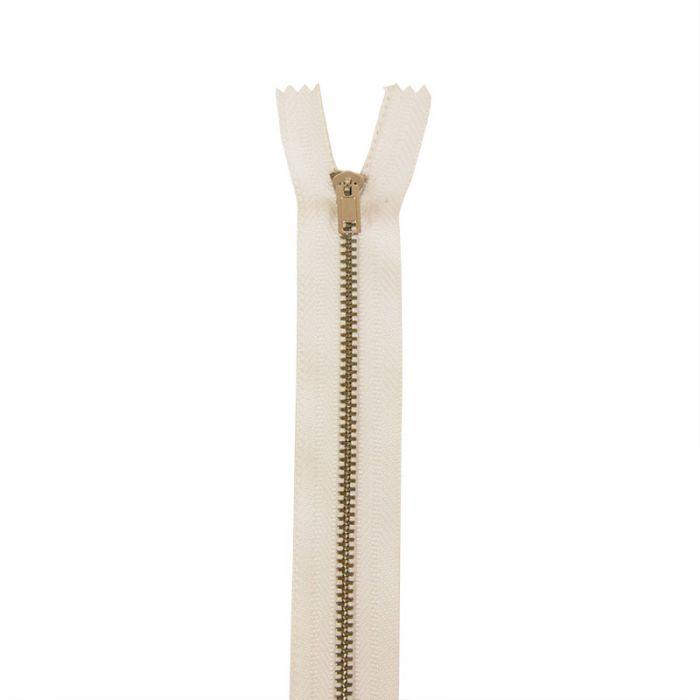 Fermeture à glissière pantalon non séparable