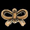 Breloque noeud papillon 14mm cuivre