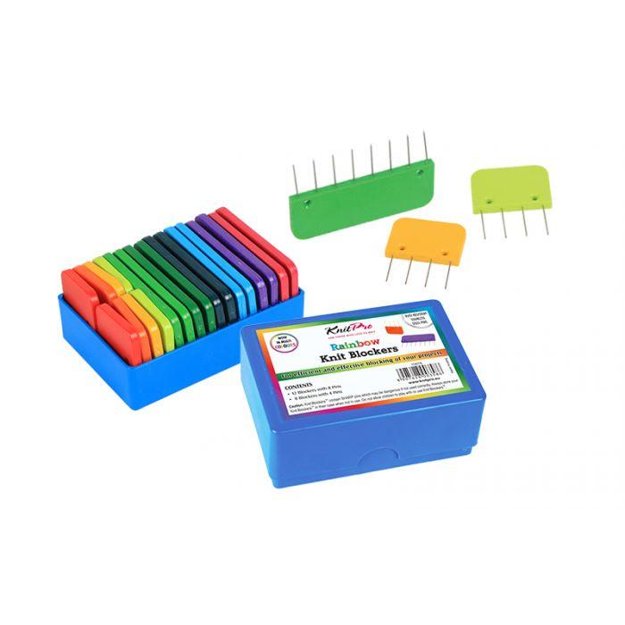 Peignes de blocage Rainbow Knit Pro x 20