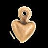 Breloque coeur 7mm cuivre