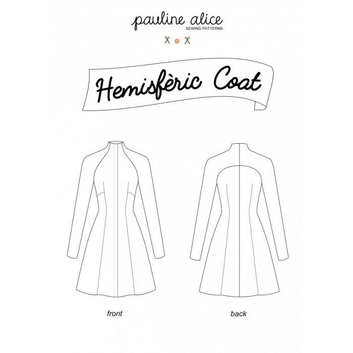 Manteau Hemisfèric - Pauline Alice