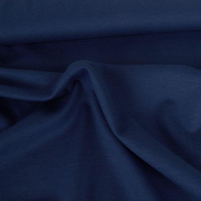 Tissu punto stretch - bleu roi x 10 cm