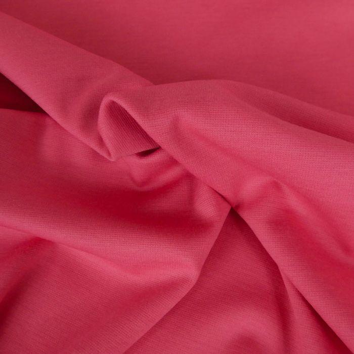 Tissu punto stretch - corail x 10 cm