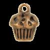 Breloque cupcake 13mm cuivre