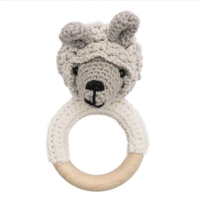 Kit crochet anneau de dentition Ricorumi - lama