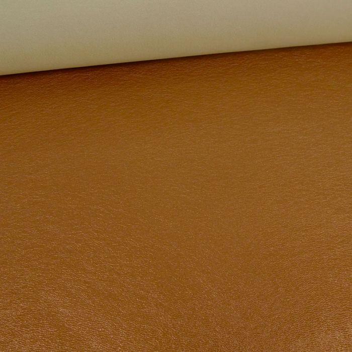 Tissu simili cuir souple - cuivre x 10 cm