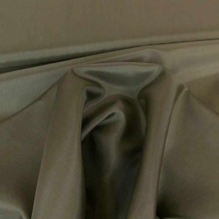 Tissu doublure viscose - Gris x 10 cm
