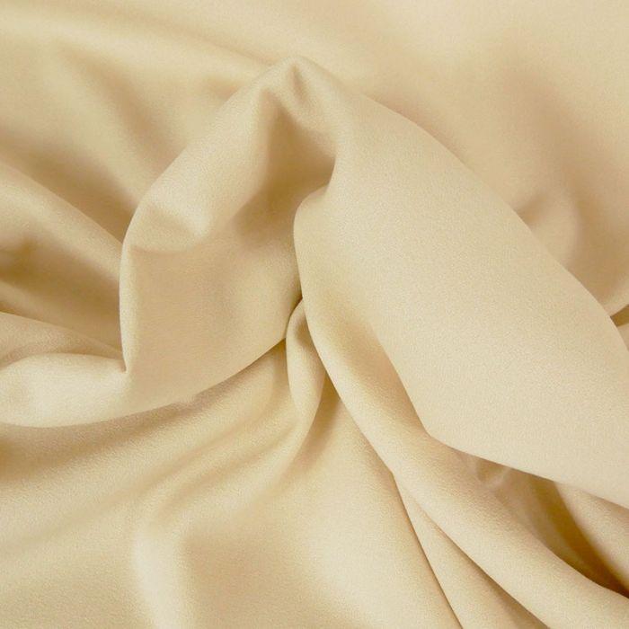 Tissu Crêpe viscose haute couture - écru x 10 cm