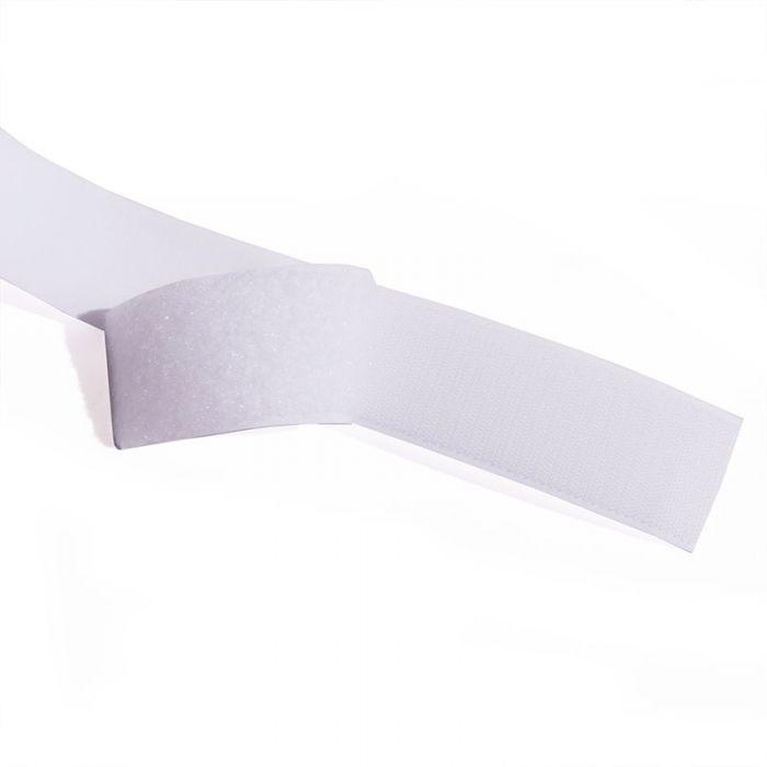 Scratch type Velcro à coudre - Blanc x 10 cm