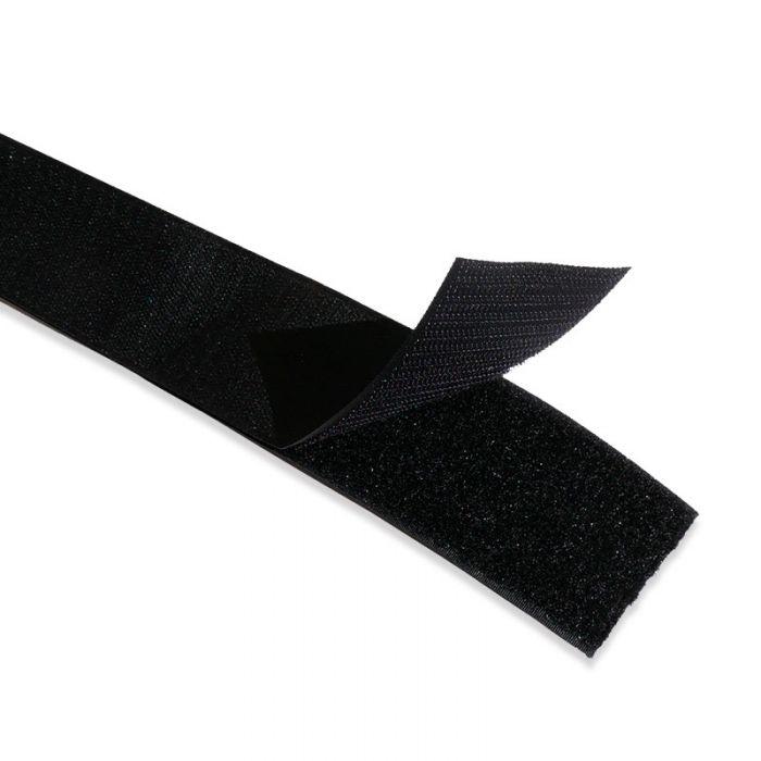 Scratch type Velcro à coudre - Noir x 10 cm