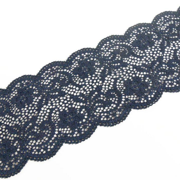 Ruban dentelle élastique 65 mm x 10 cm