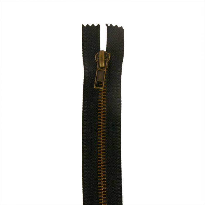 Fermeture à glissière métal pantalon non séparable