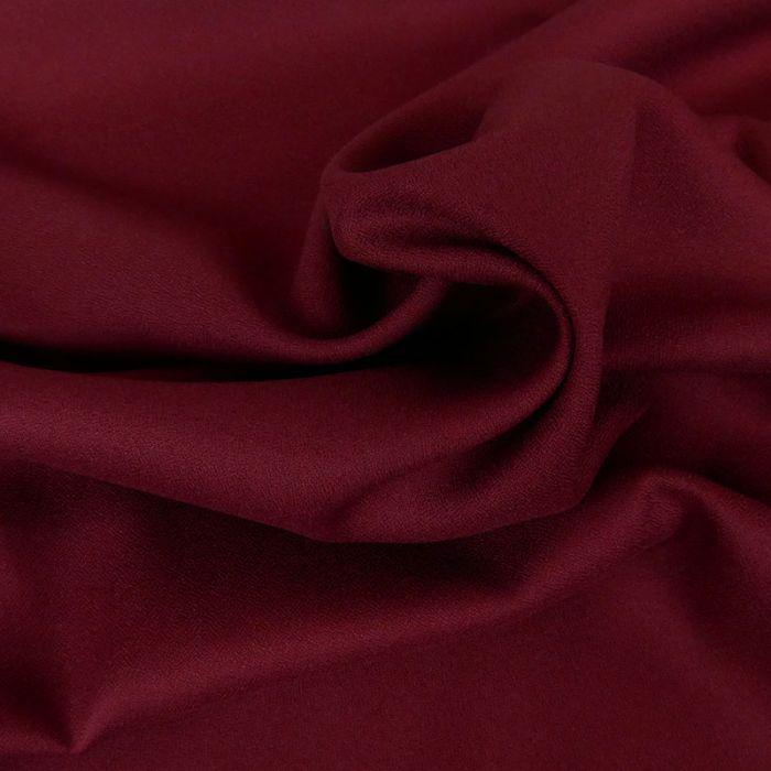 Tissu Crêpe viscose haute couture - Bordeaux x 10 cm