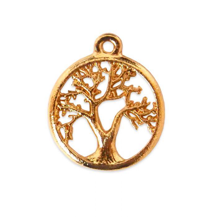 Pendentif arbre de vie en acier x1