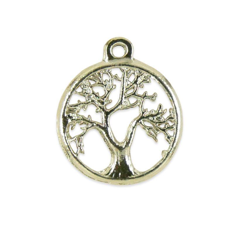 x1 pendentif arbre de vie BN0004 en argent 925 35mm