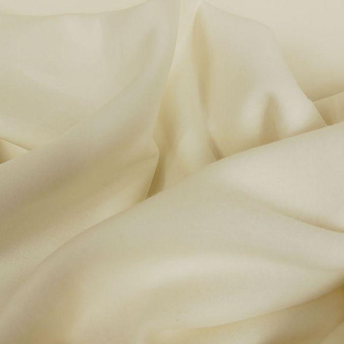 Tissu molleton sweat - écru x 10 cm